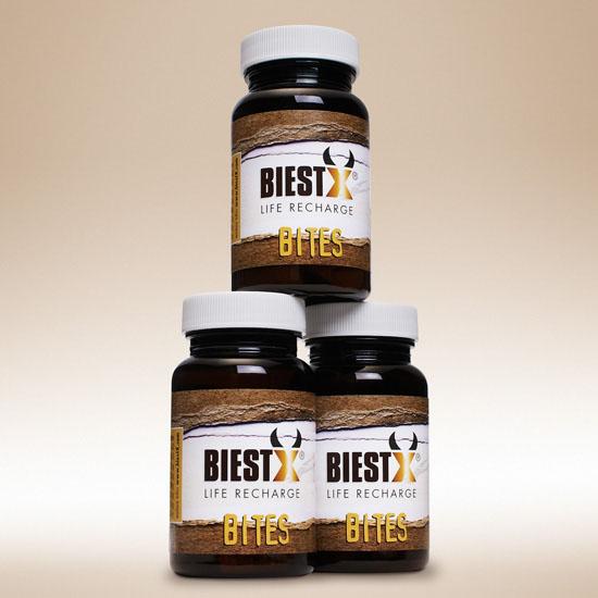 3 x BIESTX® BITES